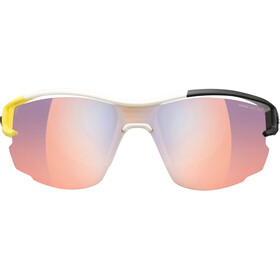 Julbo Aero Zebra Light Red Sunglasses Yellow/White/Black-Multilayer Blue